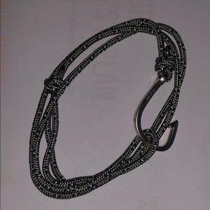 Miansai Gray Triple Wrap Bracelet